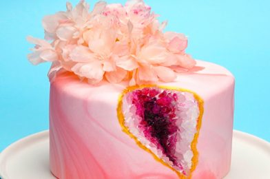 Learn How To Make Geode Cake