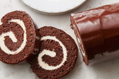 Most Satisfying Chocolate Roll Cake