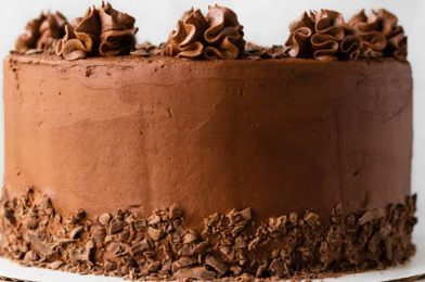 Simple Chocolate Cake You Can Try It