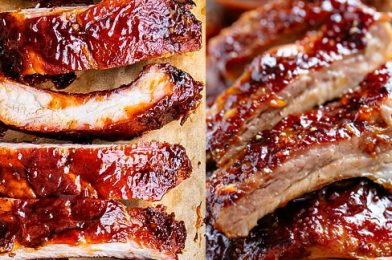 Tasty Sticky Oven Barbecue Ribs