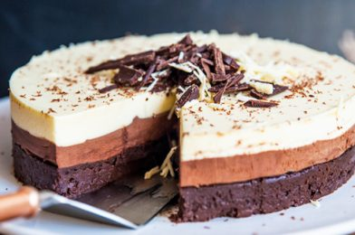 What's better than a chocolate mousse cake?