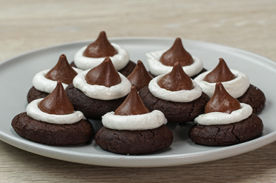 Hot Cocoa Cookie With Marshmallow