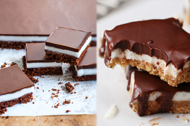 The Most Delicious Chocolate Peppermint Squares Recipe