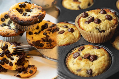 Let's Stay Healthy with Keto Chocolate Chip Muffins