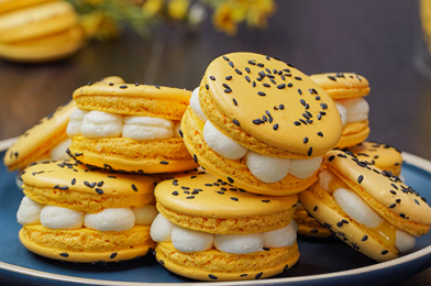 How To Make Easy Pαѕѕion Fruit Macarons