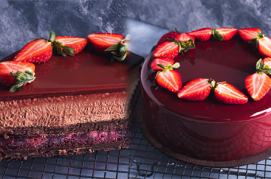 How To Make This Gorgeous Red Berry Chocolate Entremet