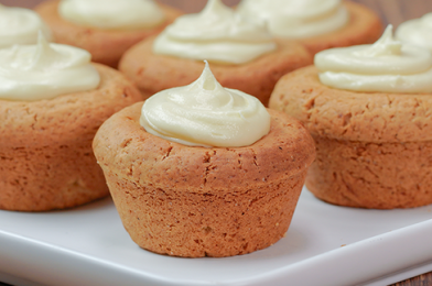 Mini Gingerbread Cookie Cups Christmas Recipe