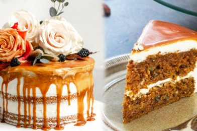 The Seasonal Cake Is Coming To Be The Star Of Any Party Or Holiday Dinner! – Caramel Carrot Cake Recipe