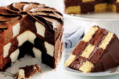 This Chocolate Cake Is Designed To Show Off Your Sḳïŀŀ – Chocolate Checkerboard Cake Recipe