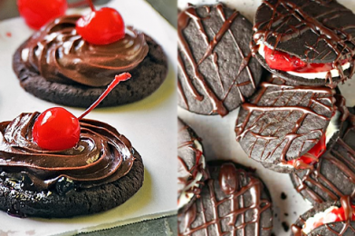 A Crazy Easy, Incredibly Tasty Dessert That Can Satiate Your Chocolate Cravings – No-Bake Black Forest Cookies Recipe