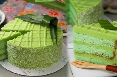 How To Make An Ideal Tea Time Snack? – Pandan Layer Cake Recipe