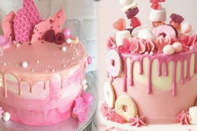The Ideal Cake That Is As Delicious As It Is Pretty To Look At – Pink Drip Layer Cake Recipe